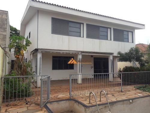 Sobrado Com 4 Dormitórios Para Alugar, 380 M² Por R$ 4.900/mês - Jardim Sumaré - Ribeirão Preto/sp - So0456