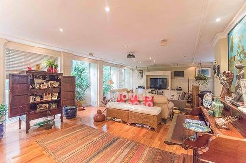Imagem 1 de 14 de Apartamento Com 4 Dormitórios À Venda, 322 M² Por R$ 3.100.000 - Higienópolis - São Paulo/sp - Ap0639