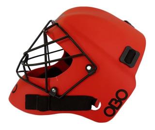 Casco Obo Robo Abs Arquera Hockey Profesional Anatomico Oficial Adulto
