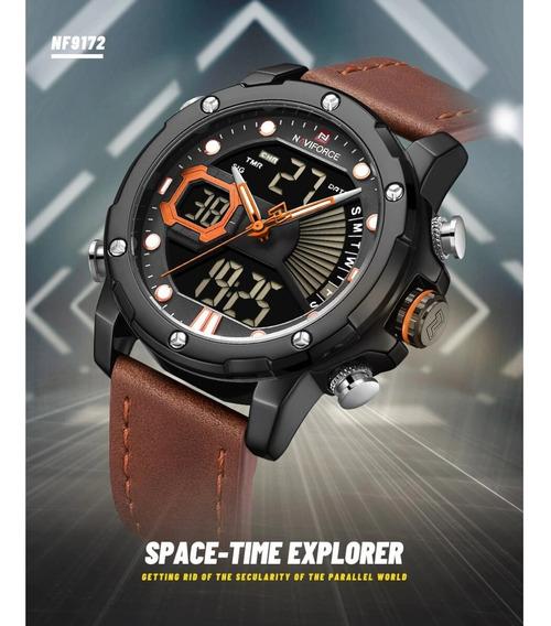 Relógio Masculino Nave Force Sporte - Exclusivo
