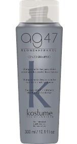 Kostume Shampoo Matizador Ceniza Gris Silver X300