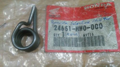 Resorte Cambio Honda Cbr 600 ´95-00 24651-mw0-000 Original