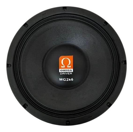 Alto-falante Woofer Omega Driver Mg2k6 1300 Rms 12 Polegadas