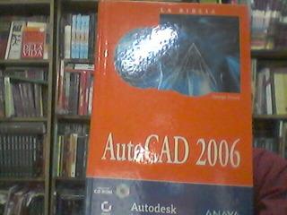 La Biblia Autocad 2006 Incluye Cd Autodesk Anaya 8441519560