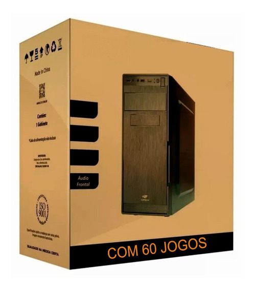 Pc Cpu Gamer Barato Com Jogos Hdmi Wifi Cs Go Lol
