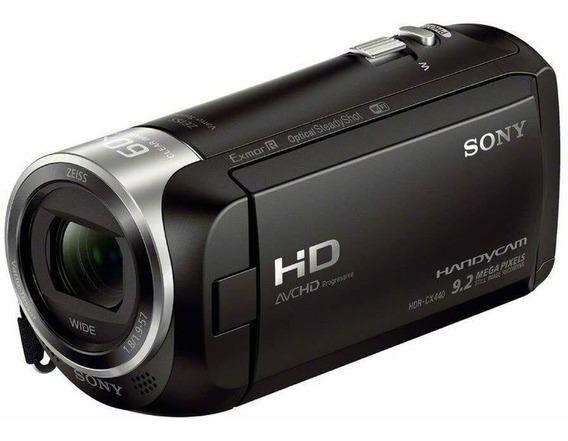 Filmadora Sony Hdr-cx440 Live Youtuber Hdmi Limpa
