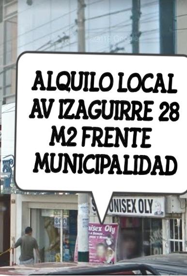 Alquilo Local Comercial Frente Municipalidad De Los Olivos