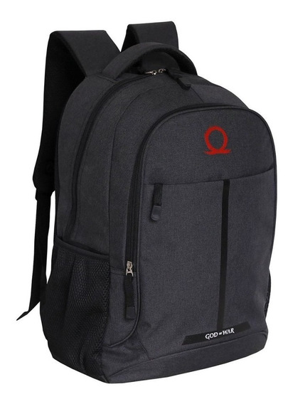 Mochila Costa Grande God Of War Cobra D Água Porta Notebook