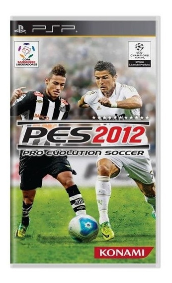 Pro Evolution Soccer 2012 Psp Mídia Física Usado