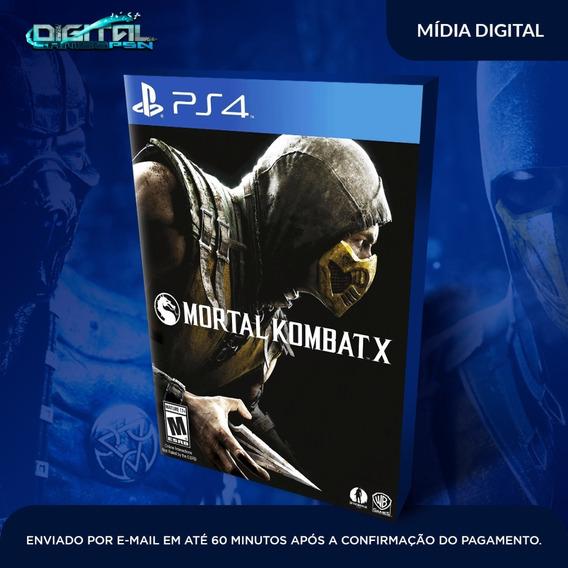 Mortal Kombat X 10 Ps4 Psn Jogo Digital Envio Imediato