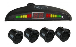 Kit 4 Sensores De Estacionamiento Con Sonido Y Display Led