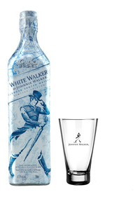 Kit Johnnie Walker White Walker 750ml + 1 Copo