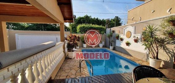 Casa Com 3 Dormitórios À Venda, 260 M² Por R$ 800.000 - Nova Piracicaba - Piracicaba/sp - Ca2917