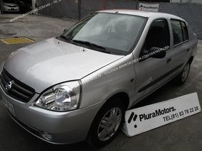Nissan Platina 2010 Custom Std Clima Tela Alarma $59,000