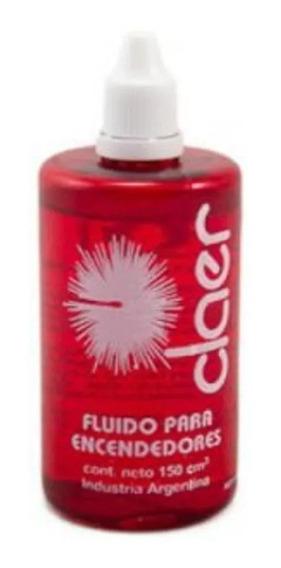 Fluido Líquido Bencina Claer Para Encendedor X 150 Cm3