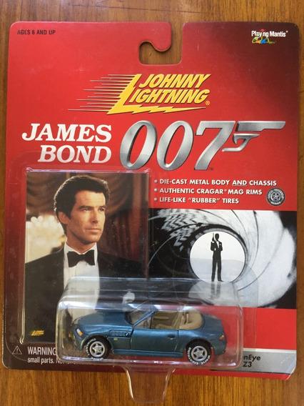Johnny Lightning 007 Golden Eye White Lightning Raro Lacrado