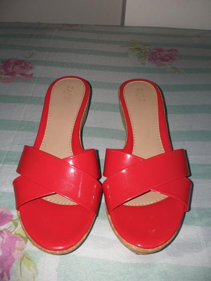 Sandálias Com Salto