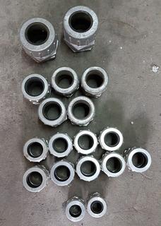 Prensa Cables De Aluminio Varias Medidas (lote 17 Unidades)