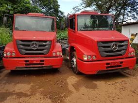 Mercedes-benz Mb 1319 Toco Ano 2014 Km 28.000 Semi Novo
