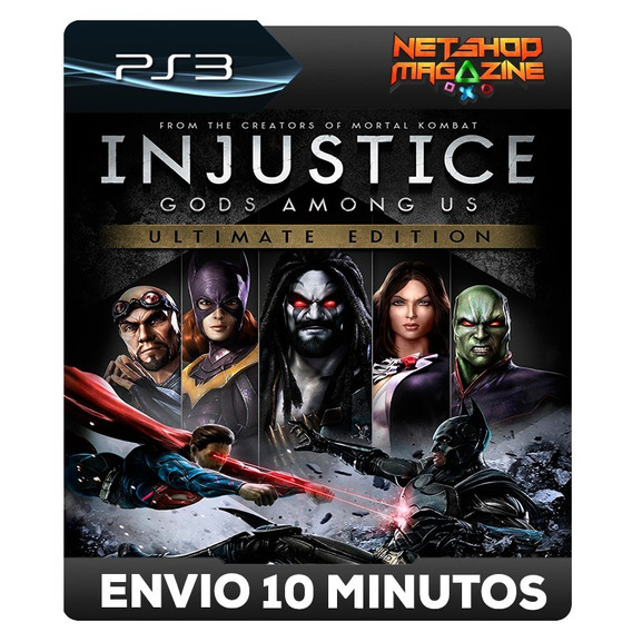 Injustice: Gods Among Us Ultimate - Psn Ps3 - Envio Imediato