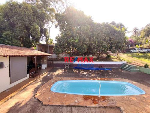 Imagem 1 de 30 de Chácara Santa Rita  No Paraiso Da Cachoeira - Ch0018