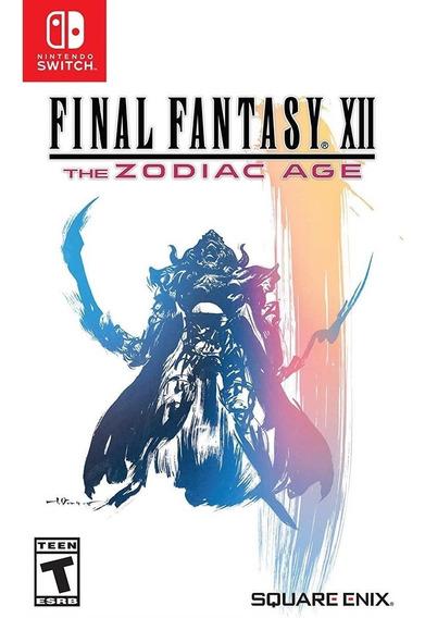 Final Fantasy Xii: The Zodiac Age - Switch Lacrado