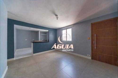 Apartamento Com 2 Dormitórios À Venda, 55 M² Por R$ 180.000,00 - Conjunto Residencial Planeta - Santo André/sp - Ap2220