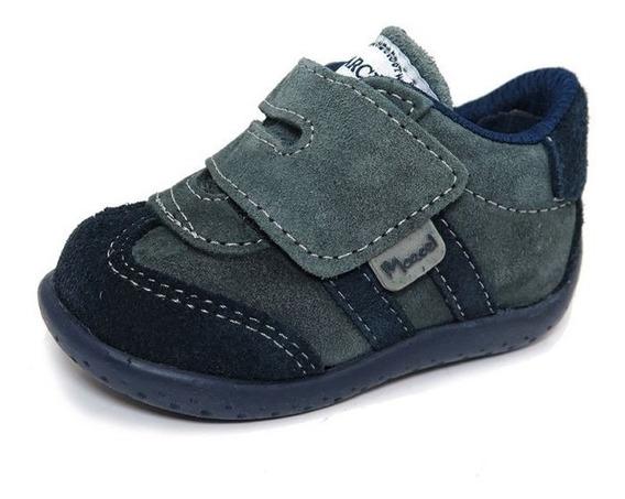 Zapato Botita Gamuza Abrojo Marcel Varon 19-26 Children´s