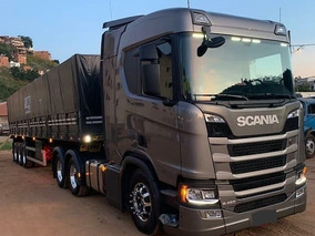 Scania R450 6x2 Carreta Graneleiro 3 Eixos 2019\19