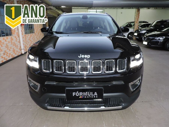 Jeep Compass Limited 2.0 4x2 Flex 2017 Preta
