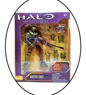 Halo Master Chief Universe Series Mattel Oferta Nuevo 6puLG