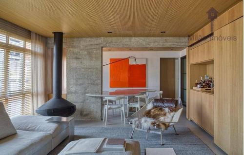 Imagem 1 de 27 de Apartamento 2 Dormitórios À Venda, 166 M², Edifício Ouro Verde, Jardim Paulista Em São Paulo/sp - Ap1418