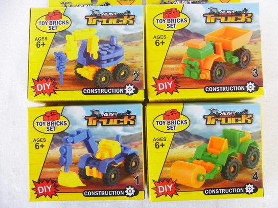 Carrito Armable Tipo Lego Construcción Didactico Somos Tiend