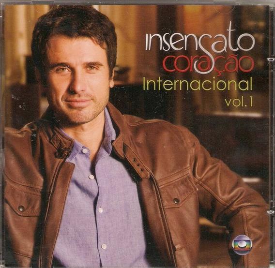 Cd Insensato Coração - Internacional Vol.1 - Novo***