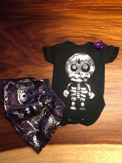 Pañaleros Personalizados Halloween Día De Muertos