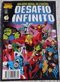 Hq: Desafio Infinito - Parte 1 - Thanos - Abril Jovem - 1995