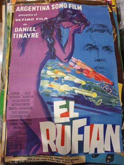 Antiguo Afiche De Cine Original