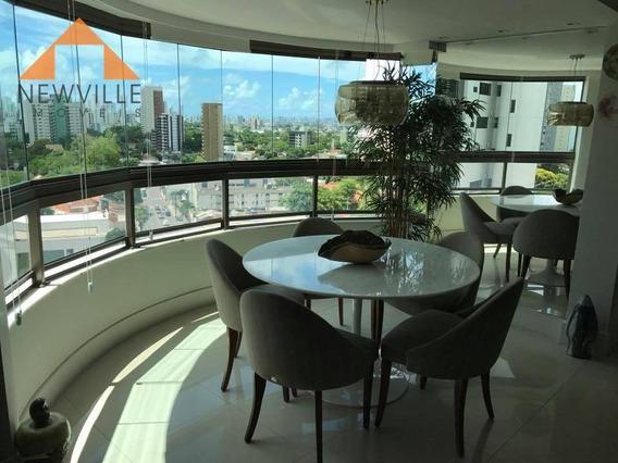Apartamento Com 4 Quartos À Venda, 125 M² Por R$ 900.000 - Casa Forte - Recife/pe - Ap2024