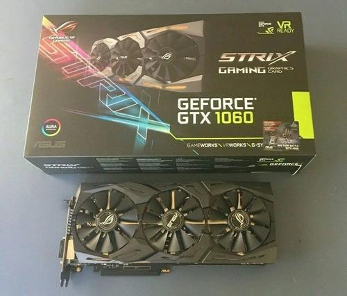 Nuevo Asus Rog Geforce Gtx 1060 6gb Tarjeta Gráfica