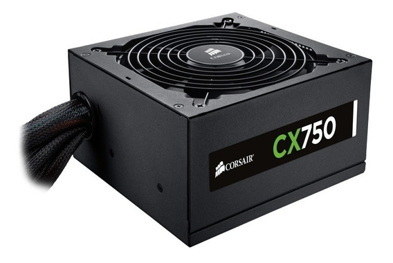 Fonte Corsair Atx Cx750m - 750 Watts Real