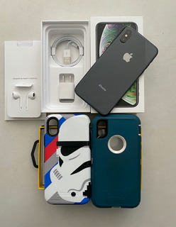 iPhone XS 256 Gb + 2 Capinhas Otterbox + Mercado Pago + Fr G