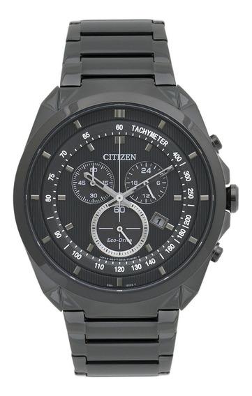 Relógio Citizen At2155-58e Masculino Preto Black Cronografo