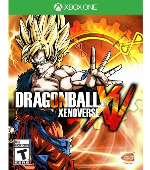Dragon Ball: Xenoverse Xbox One Mídia Física Novo Original