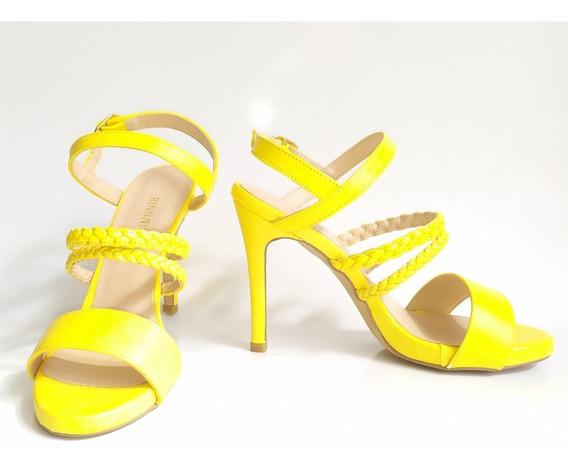 Zapatillas Rinna Bruni 222111 Amarillo ..outlet/saldos Mchn
