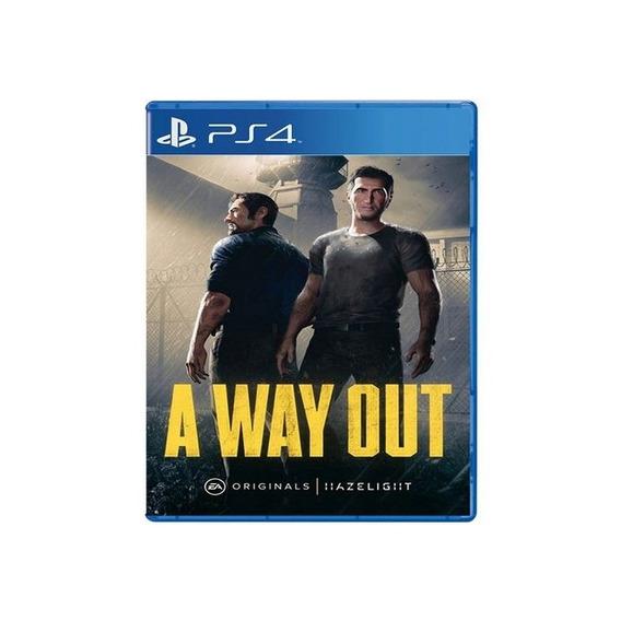 A Way Out - Ps4 Lacrado
