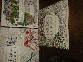 3 Livros Para Colorir