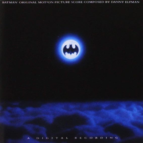 Soundtrack Batman Cd Importado Nuevo En Stock