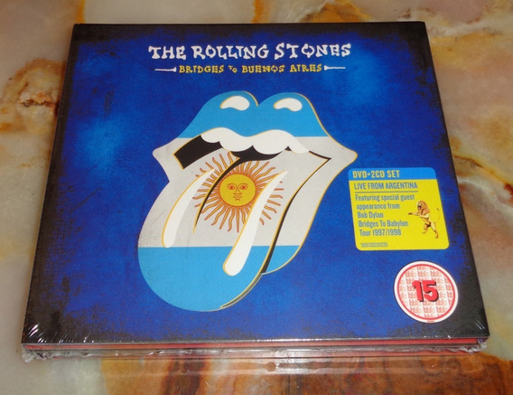 The Rolling Stones - Bridges To Buenos Aires - Cd X 2 + Dvd