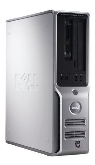 Pc Desktop Dell Dimension C521 4gb 160gb 1.8 Ghz Seminovo!