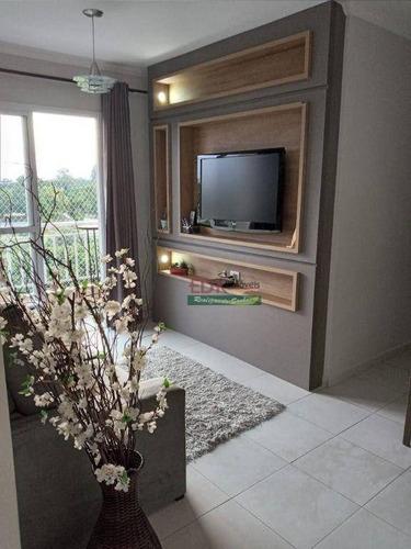 Imagem 1 de 30 de Apartamento Com 2 Dormitórios À Venda, 69 M² Por R$ 253.000 - Vila São José - Taubaté/sp - Ap8630